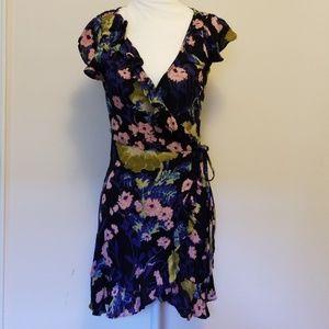 Kimchi Blue Floral Wrap Dress